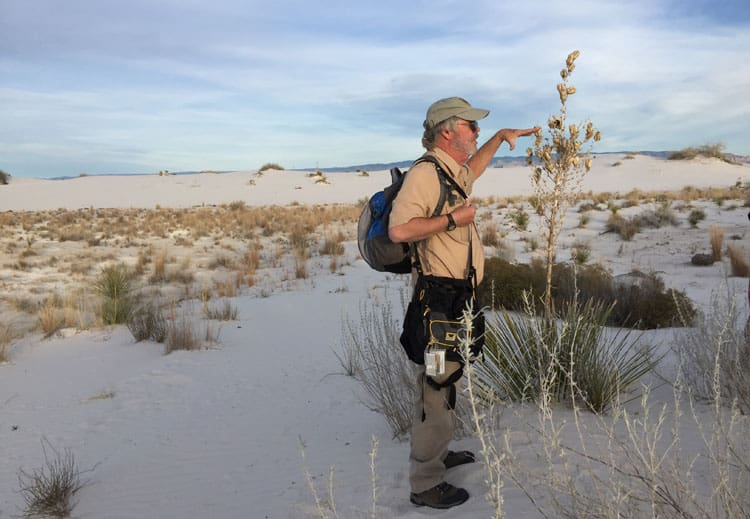 White Sands Sunset Hike