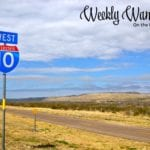Weekly Wanderings #47 – On The Road