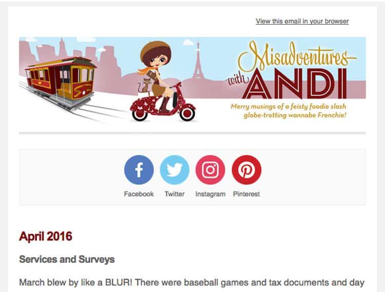 Blogging Tools - Newsletter