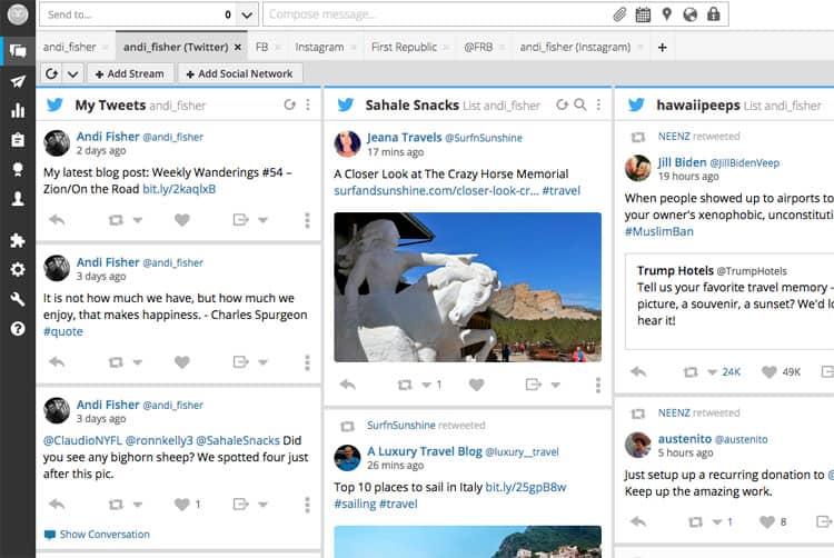 Blogging Tools - Hootsuite