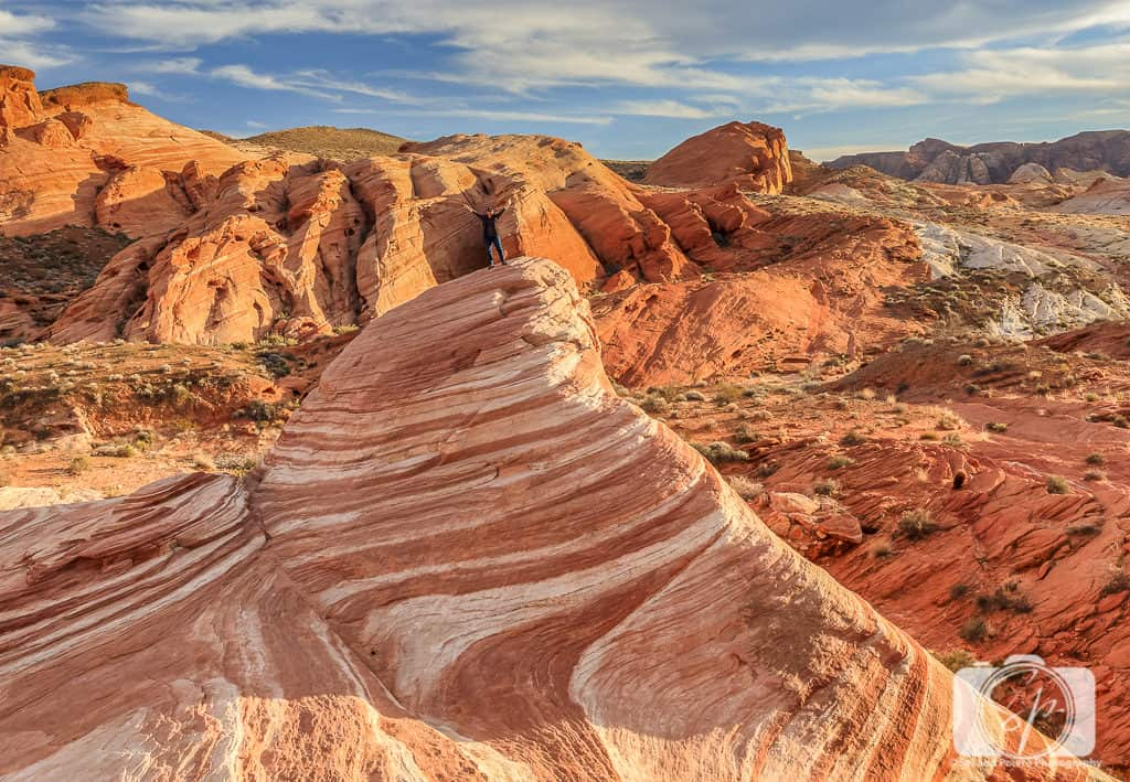 Valley of Fire State Park Nevada USA_On top of Fire Wave
