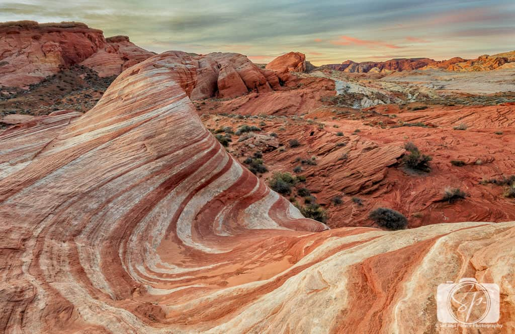 Valley of Fire State Park Nevada USA_Sunrise at Fire Wave