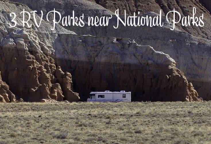 RV parks near national parks BLOG