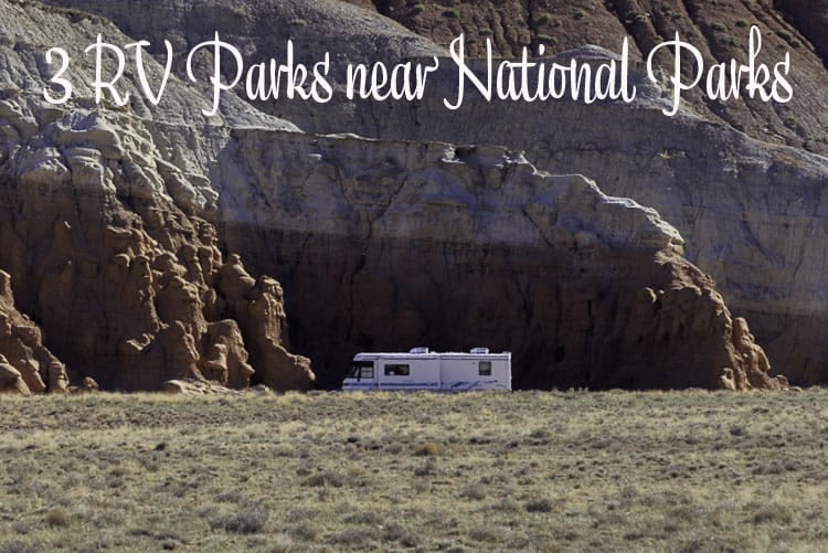 RV parks near national parks BLOG