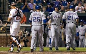 Sports in Arlington Texas Rangers Baseball