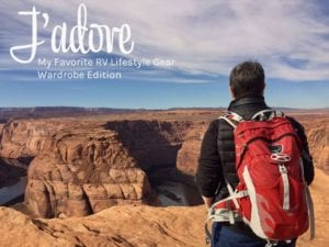 Jadore My Favorite RV Lifestyle Gear Wardrobe Edition