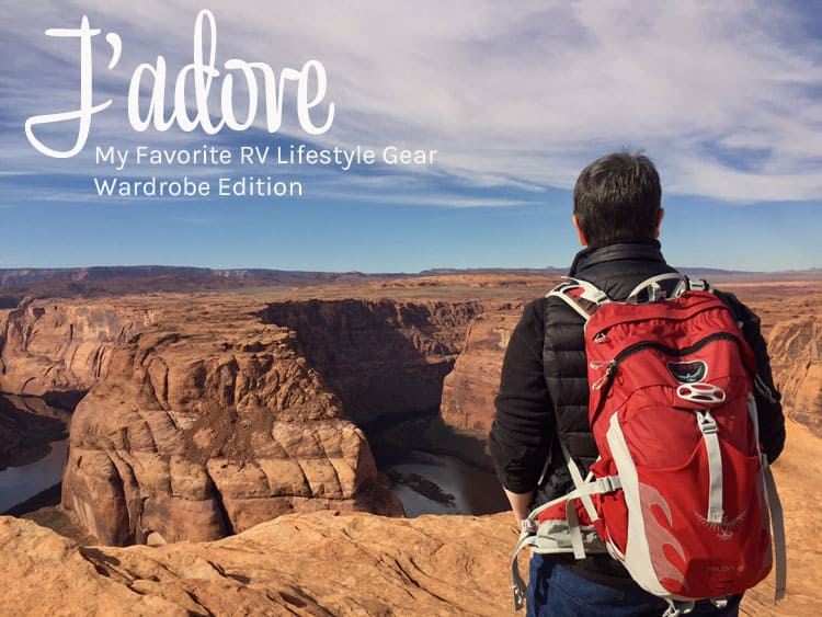 Jadore My Favorite RV Lifestyle Gear Wardrobe Edition