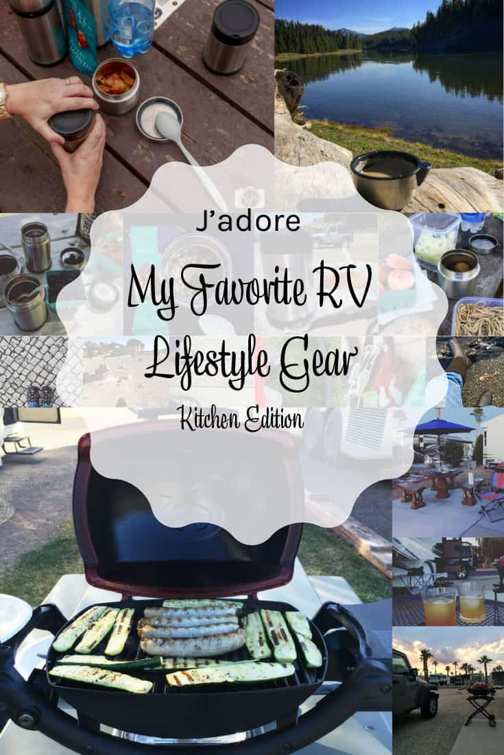 My Favorite RV Lifestyle Gear Kitchen Edition