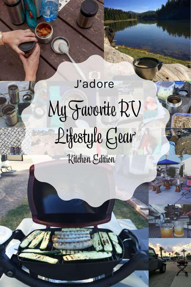 My Favorite RV Lifestyle Gear Kitchen Edition
