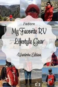 My Favorite RV Lifestyle Gear Wardrobe Edition PIN