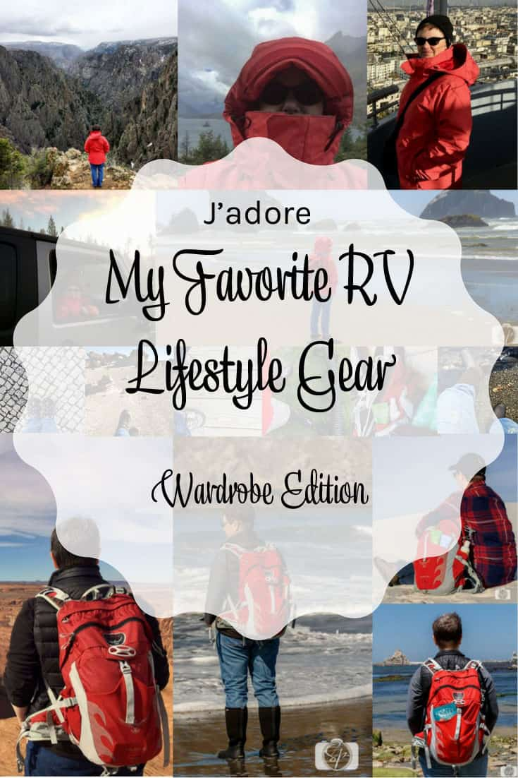 My Favorite RV Lifestyle Gear Wardrobe Edition PIN