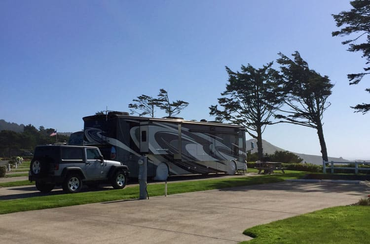 RV Park Newport Oregon