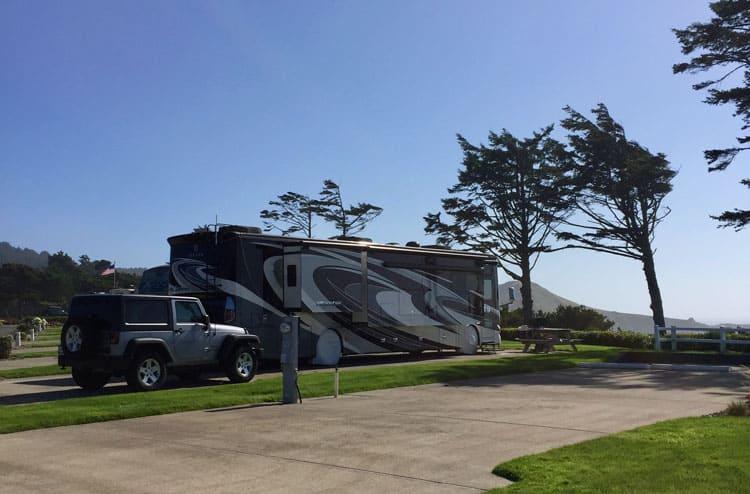 RV Park Newport Oregon