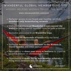 Wanderful Global Member Benefits