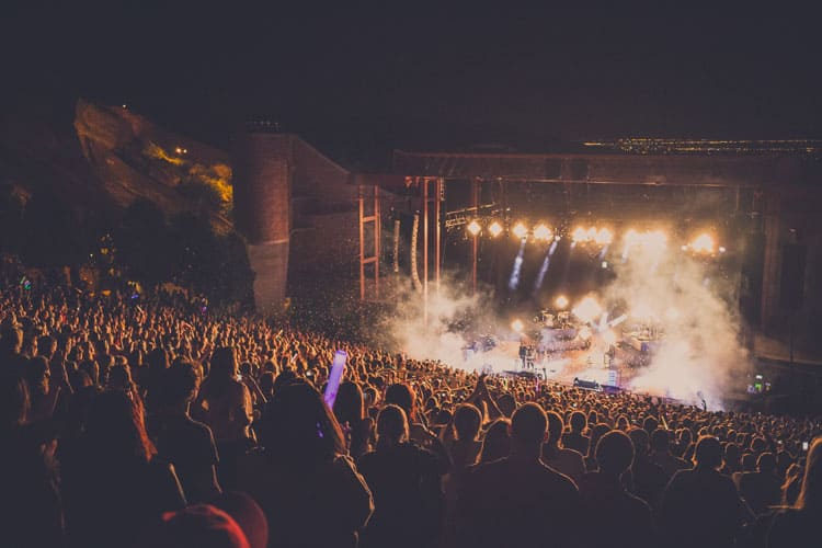 Denver in a Day - Red Rock Amphitheater