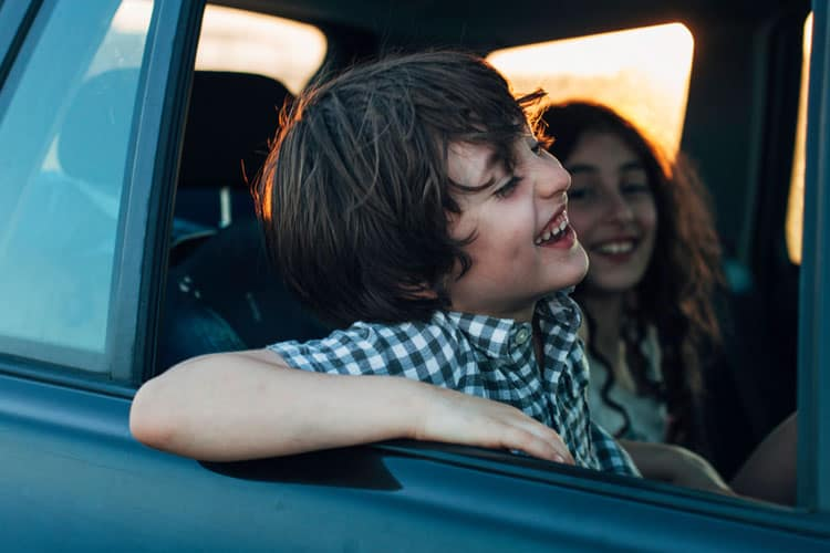 Kid-Friendly Road Trip - Make the Journey Part of the Fun
