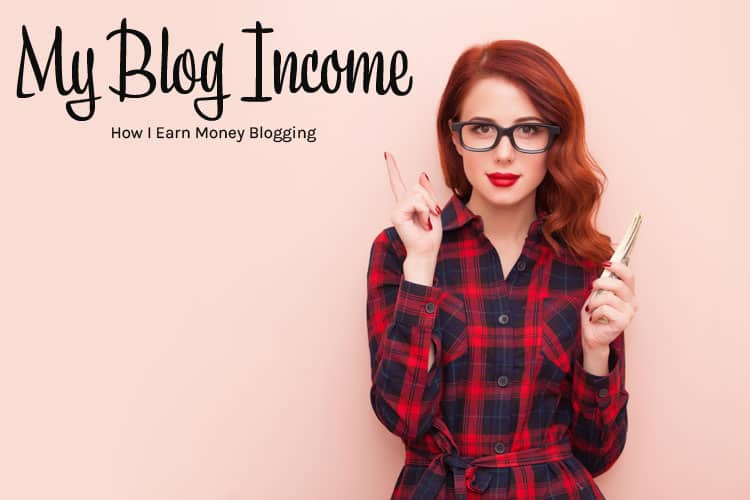 My Blog Income