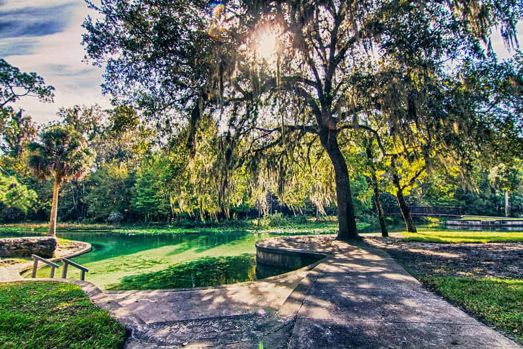 Orlando Travel Tips Nature - Kelly Park