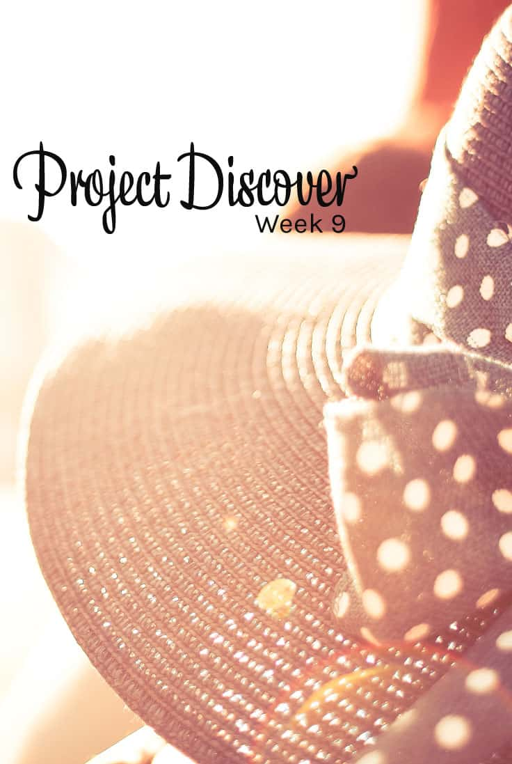 Project Discover Week 9