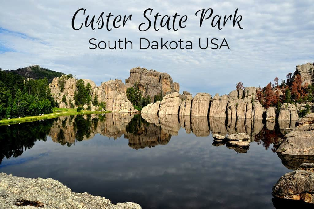 Custer State Park in South Dakota.