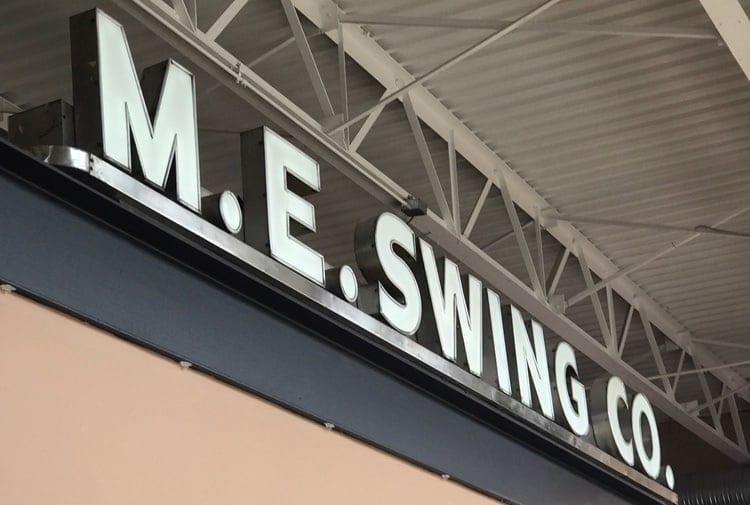3 Hot Coffee Shops in Washington DC -M E Swing Coffee Co