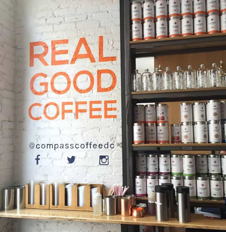 3 Hot Coffee Shops in Washington DC_ Compass Coffee_Real Good Coffee