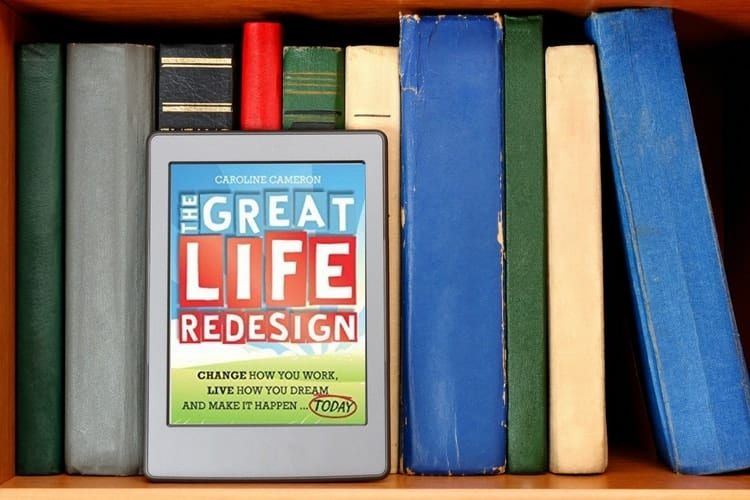 the great life redesign on shelf