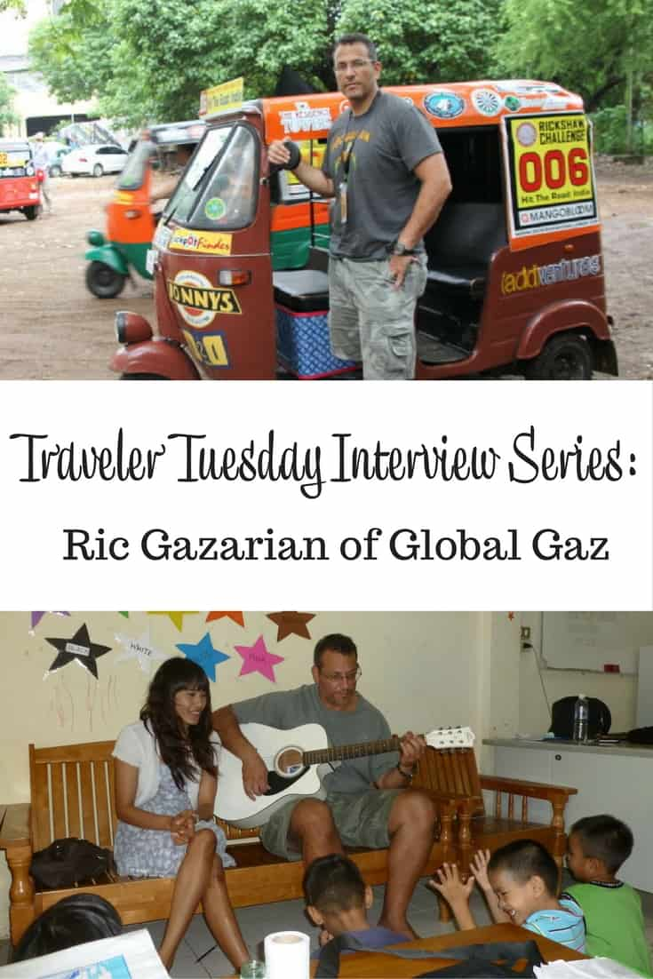 Traveler Tuesday Travel Blogger Interview Series Ric of Global Gaz
