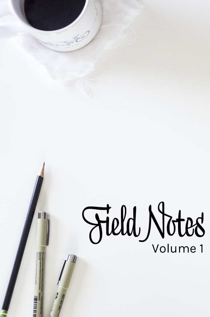 Field Notes Volume 1