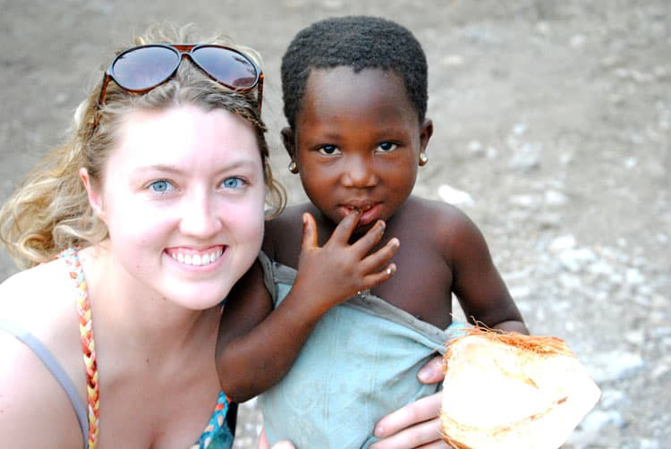 Katie of Traveling Spud in Ghana