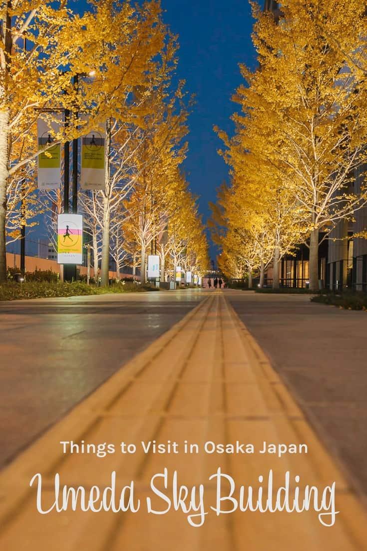 Osaka Japan Umeda Sky Building