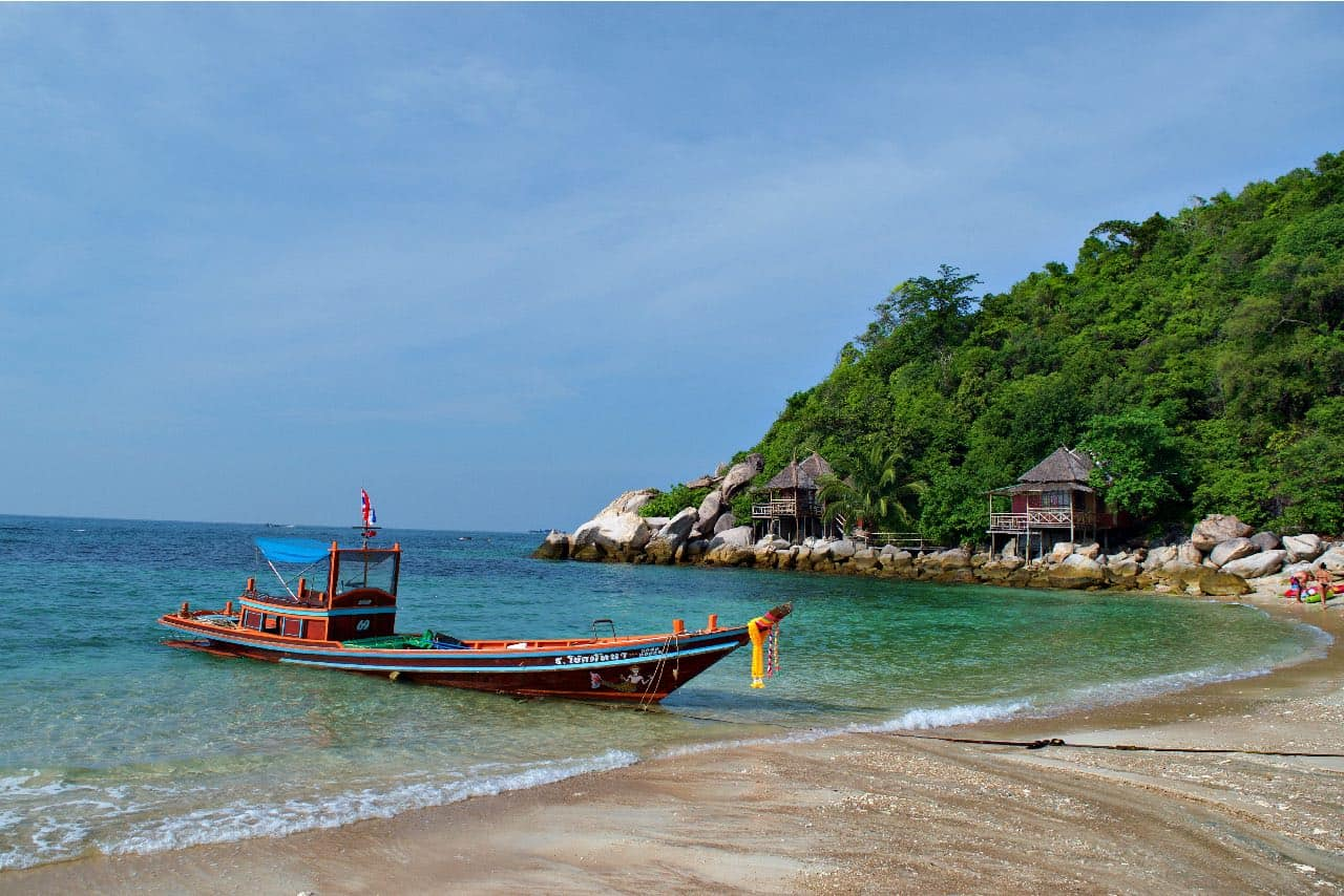 Traveler Tuesday Ed & Jennifer of Coleman Concierge - Koh Tao Longtail
