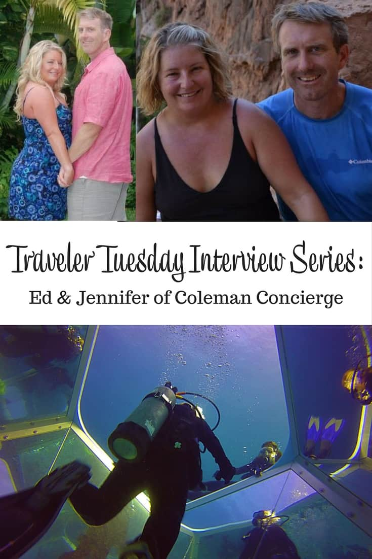 Traveler Tuesday Ed & Jennifer of Coleman Concierge - Jenn and Ed Havasu