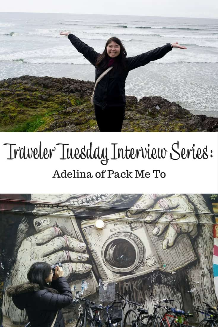 Traveler Tuesday Adelina of Pack Me To