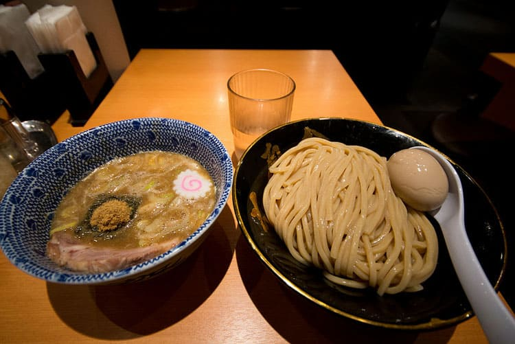 Traveler Tuesday Adelina of Pack Me To_Tsukemen dipping noodles - Tokyo