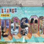 Tucson Greetings Mural by Rock Martinez and Victor Ving hero