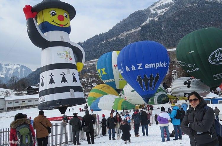 Balloon Festival Montreux