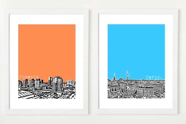 Bird Ave City Prints