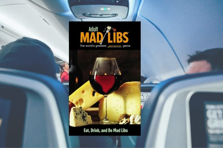 J'adore Travel Edition: Eat, Drink, and Be Mad Libs (Adult Mad Libs)
