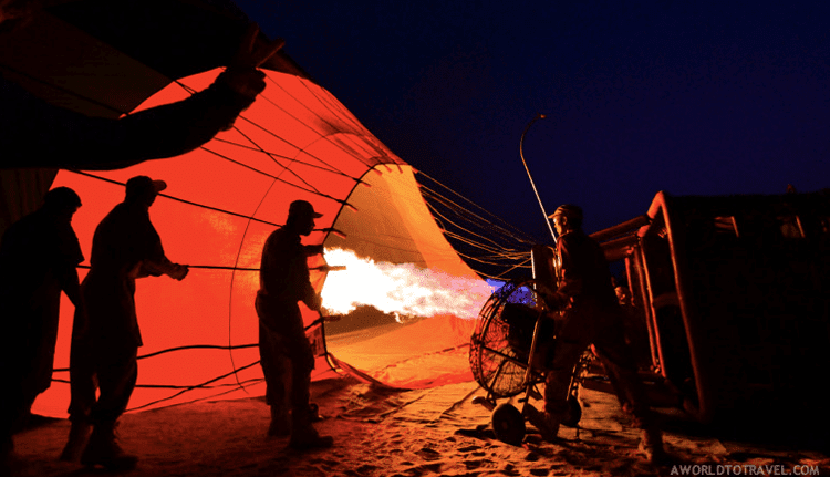 Fantastic Balloon Rides Around the World_Hot Air Balloon Ride over Dubai's desert -A World to Travel