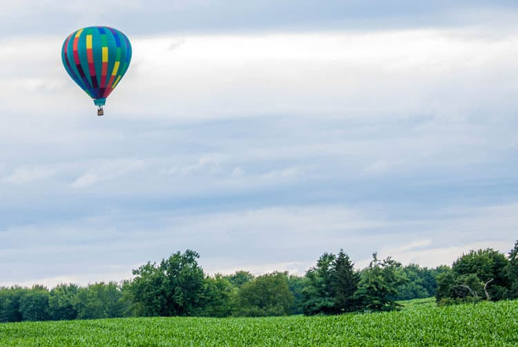 Fantastic Balloon Rides Around the World_Letchworth State Park in Upstate New York