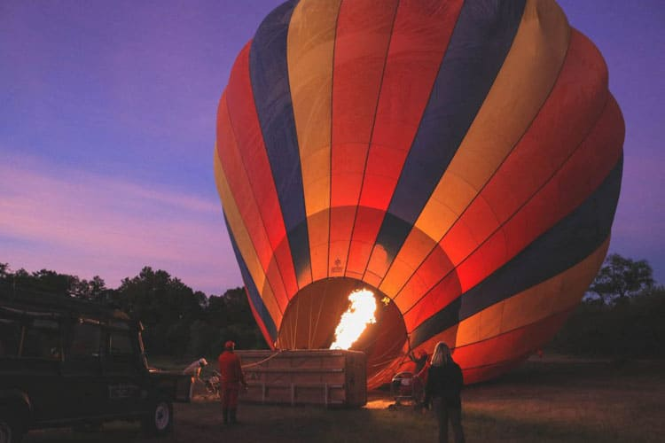 Fantastic Balloon Rides Around the World Masai Mara in Kenya
