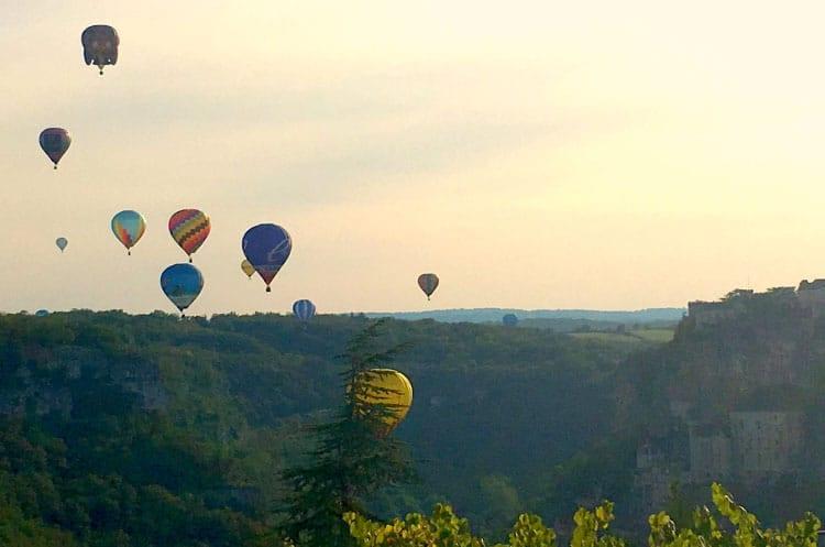 Les Montgolfiades de Rocamadour