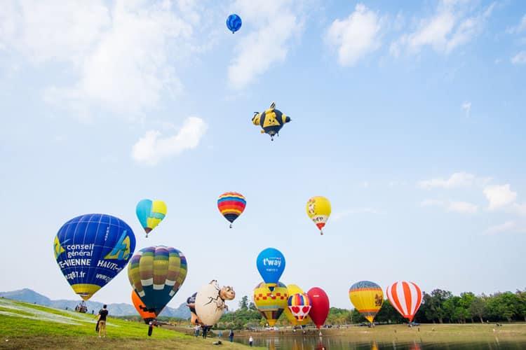 Singha Park Hot Air Balloon Fiesta Feb 2017