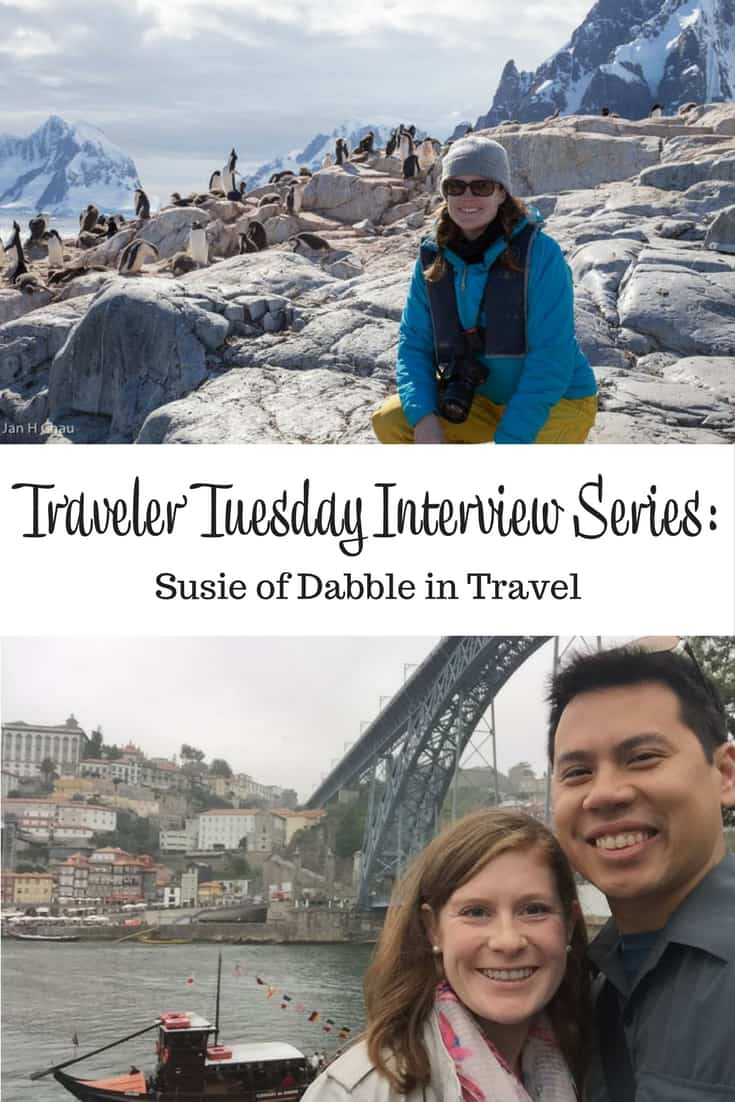 Traveler Tuesday Travel Blogger Interview with Susie of Dabble in Travel
