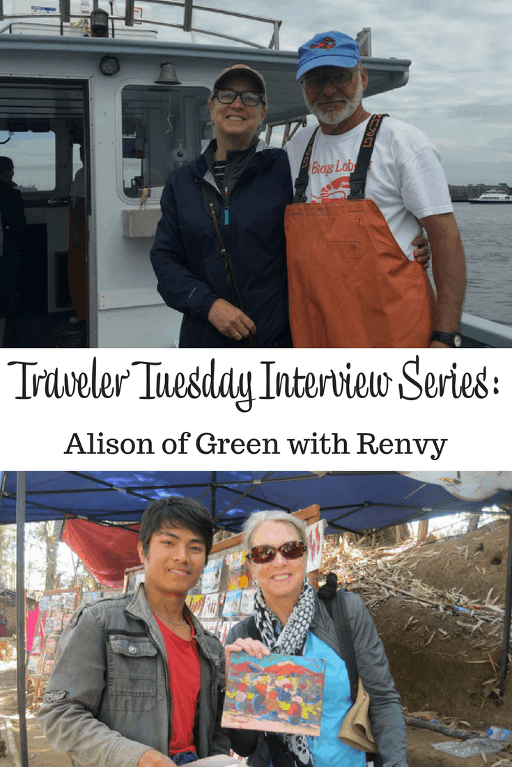 Alison of Green with Renvy