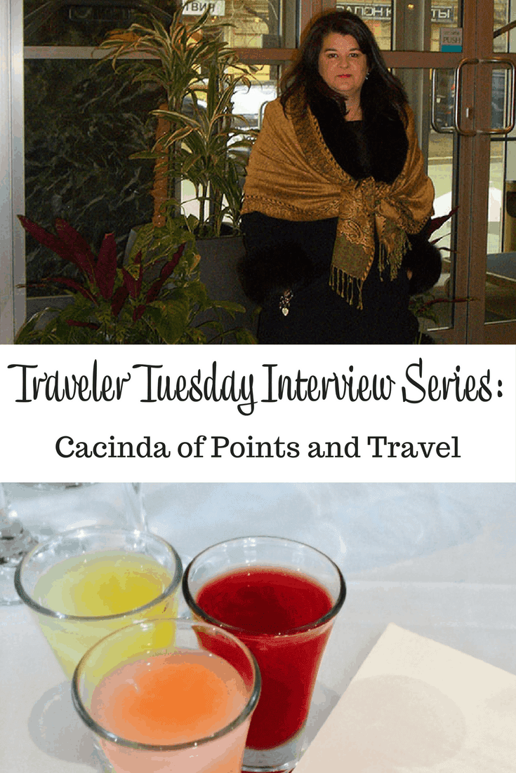 Cacinda of Points and Travel - v1