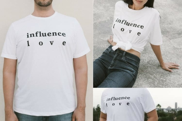 J'adore – Gifts that Give Back - Influence Love Shirt