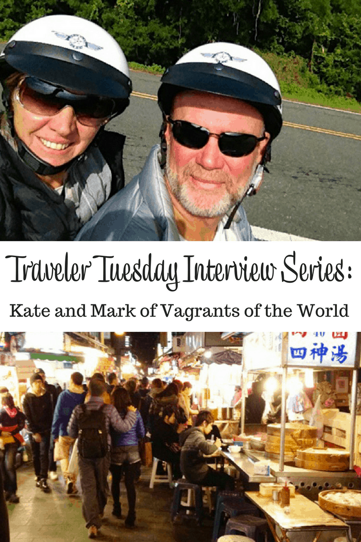 Kate and Mark of Vagrants of the World