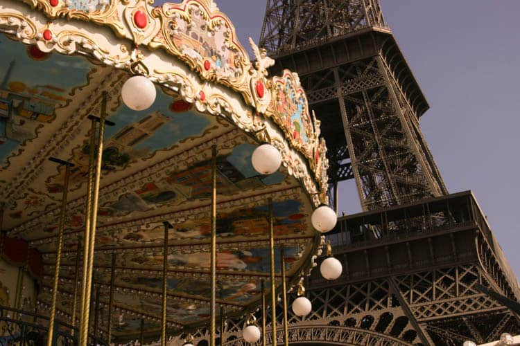 Paris for the Holidays - Carousel